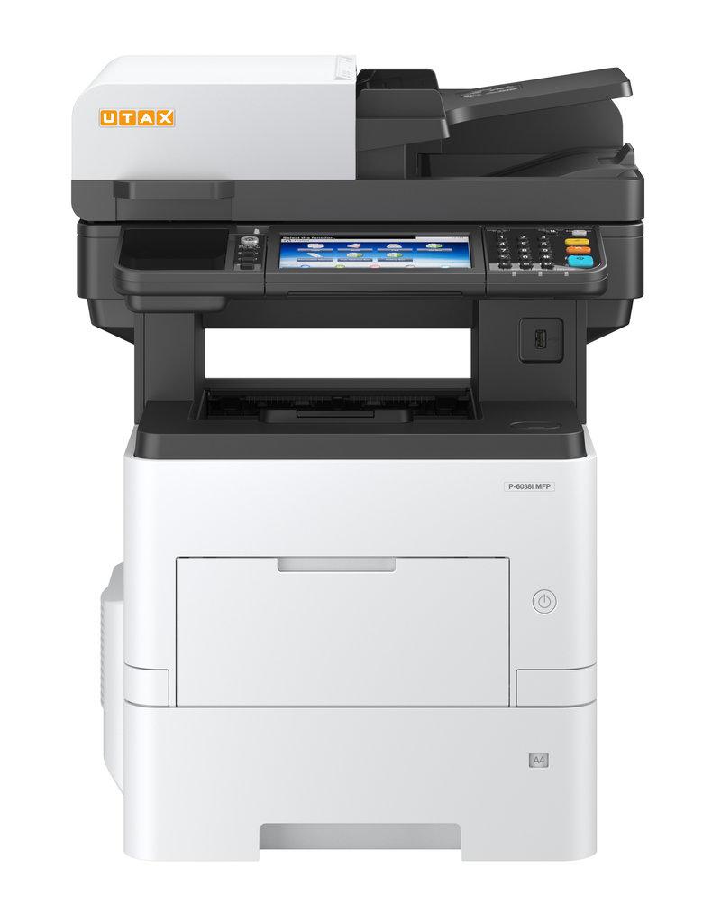 UTAX P-6038i MFP - mit 60 Seiten pro Minute einfach unverschämt produktiv