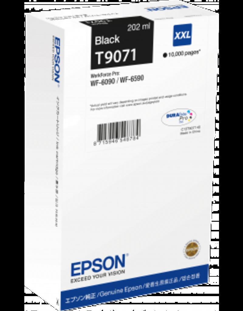 EPSON Tinte XXL schwarz f. 10.000 Seiten
