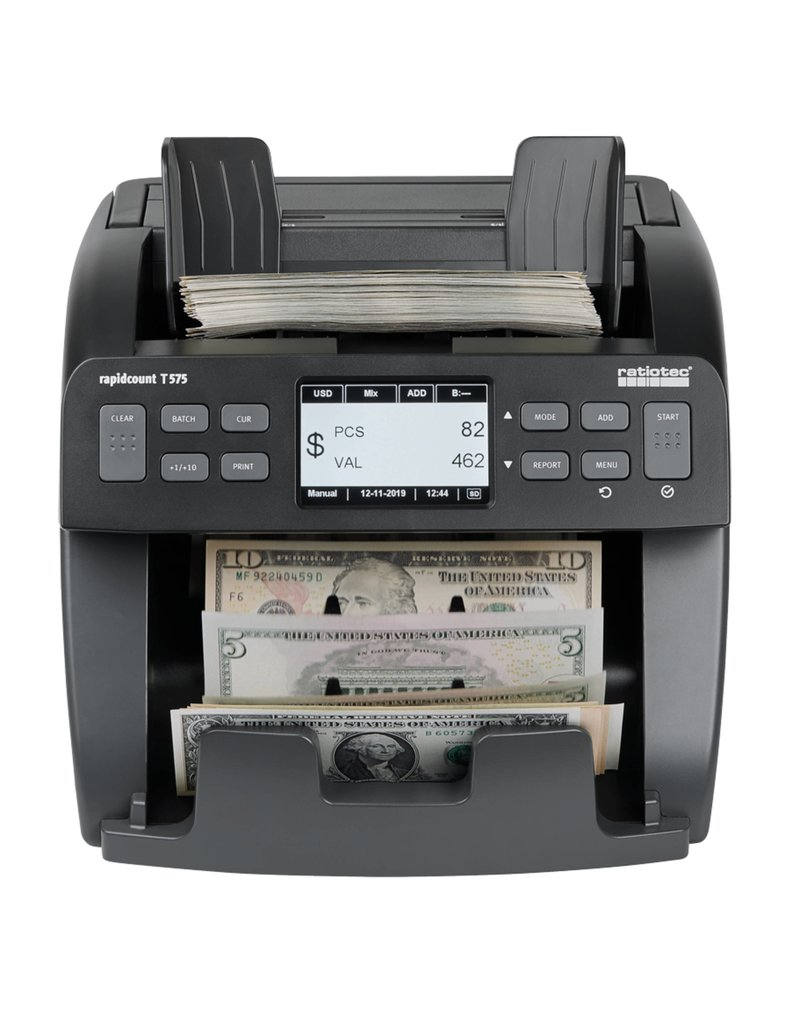 ratiotec Banknotenzählgerät rapidcount S 575 von ratiotec