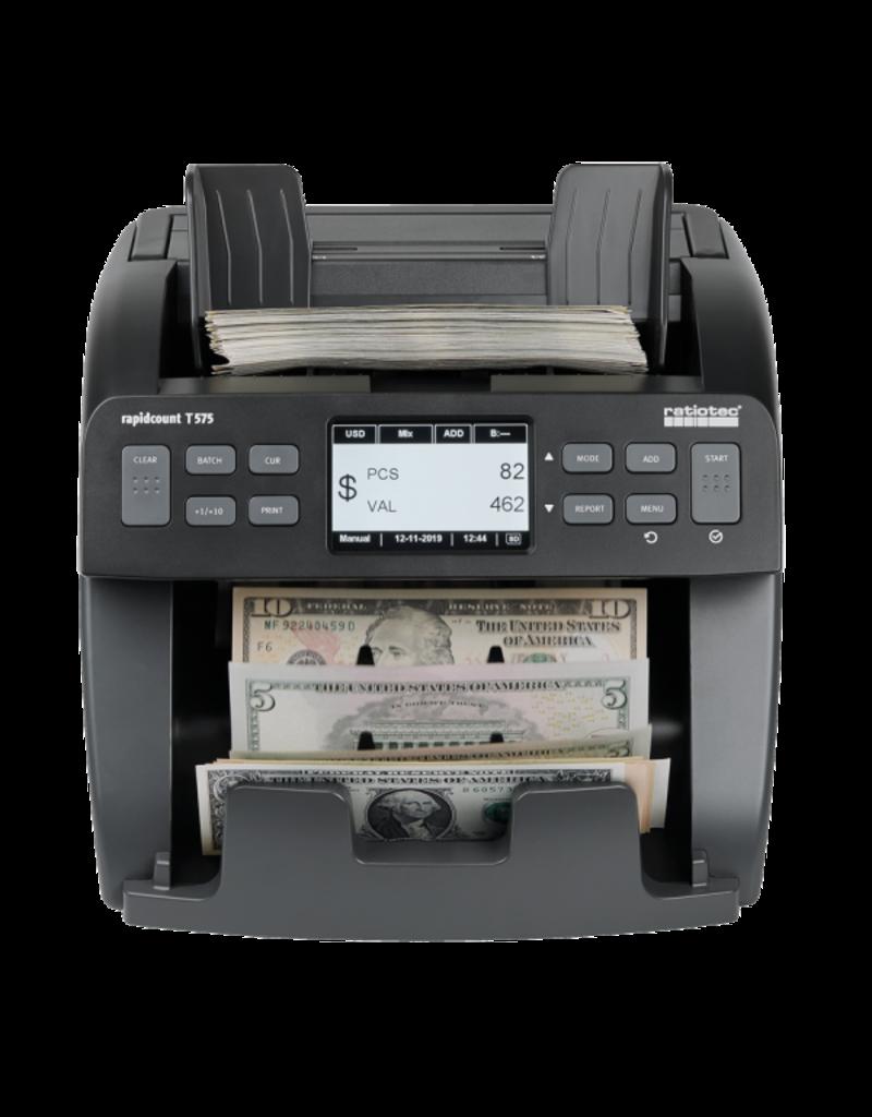 ratiotec Banknotenzählmaschine Rapidcount T 575 von ratiotec
