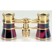 Toneelkijker Glamour - Burgundyred