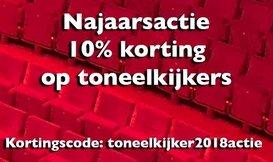 Najaarsactie: 10% korting op toneelkijkers