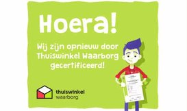 Alweer 13  jaar gecertificeerd door Thuiswinkel.org