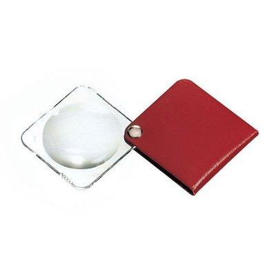Eschenbach vierkante Pocket inklaploepen (3.5x)