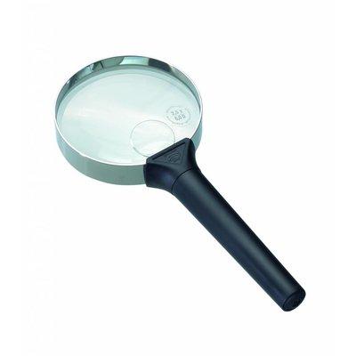 Schweizer Biconvex hand vergrootglas
