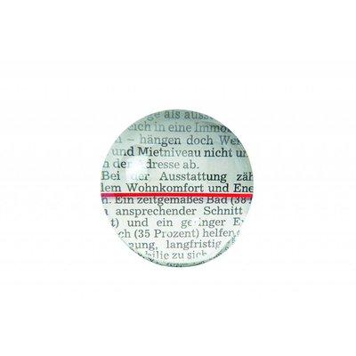 Visoletloep - kunststof lens