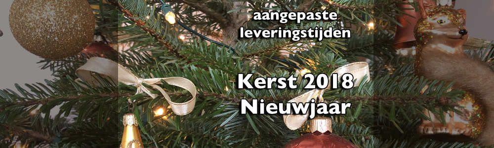 Kerst en  Nieuwjaar...  aangepaste leveringstijden