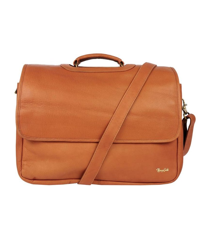 Renzo Costa ML C2607 - briefcase - brandy