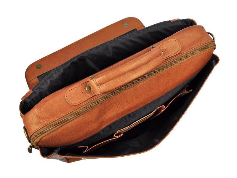 Renzo Costa ML C2607 - aktetas - cognac