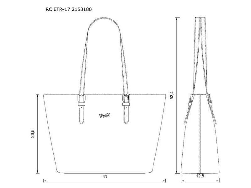 Renzo Costa RC ETR-17 2153180 - shopper - bruin