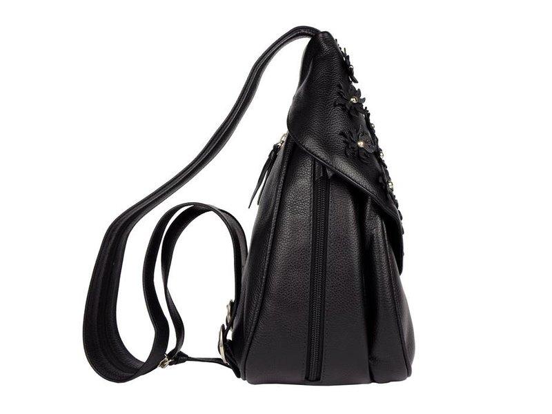 Renzo Costa MC 1802 - dames rugzak - zwart