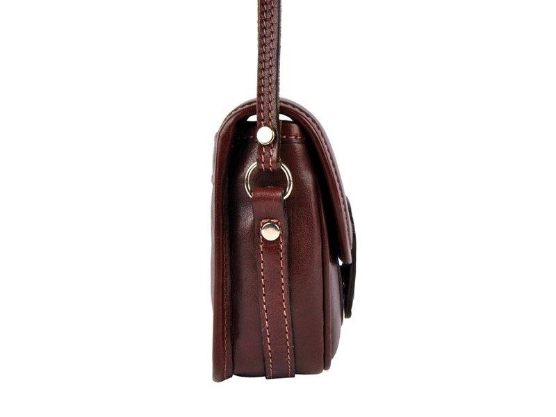 Los Robles Polo Time Chas - schoudertas - bruin