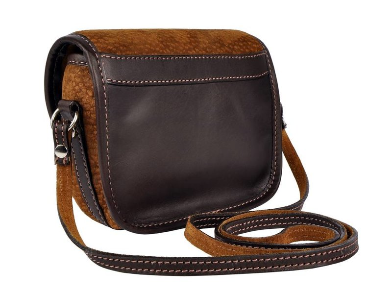 Los Robles Polo Time Chas - crossbody bag - carpincho - brown