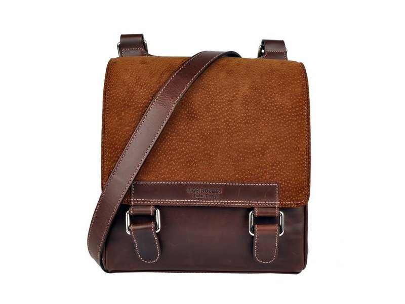 a5e8fb05329 Los Robles Polo Time San Telmo - crossbody bag - carpincho - brown