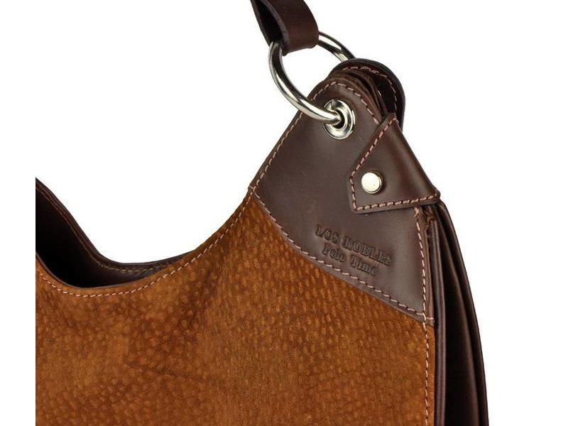Los Robles Polo Time La Boca - shoulder bag - carpincho - brown
