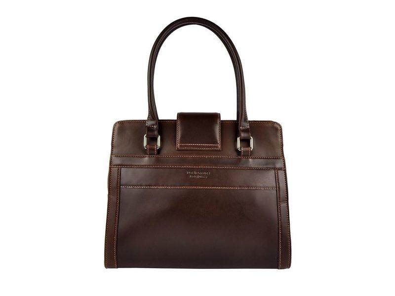 Los Robles Polo Time Cariló - handbag - carpincho - brown