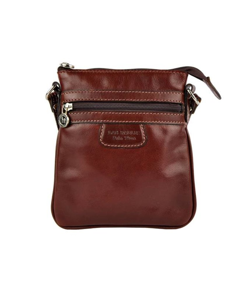 Los Robles Polo Time Santa Rita - crossbody bag - red brown