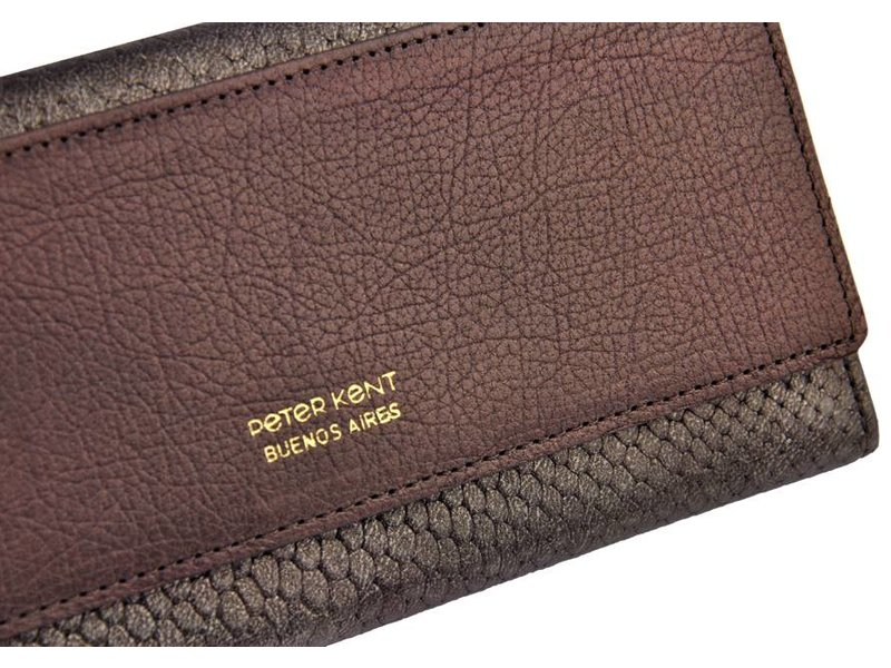 Peter Kent Peter Kent - purse - bronze/grey
