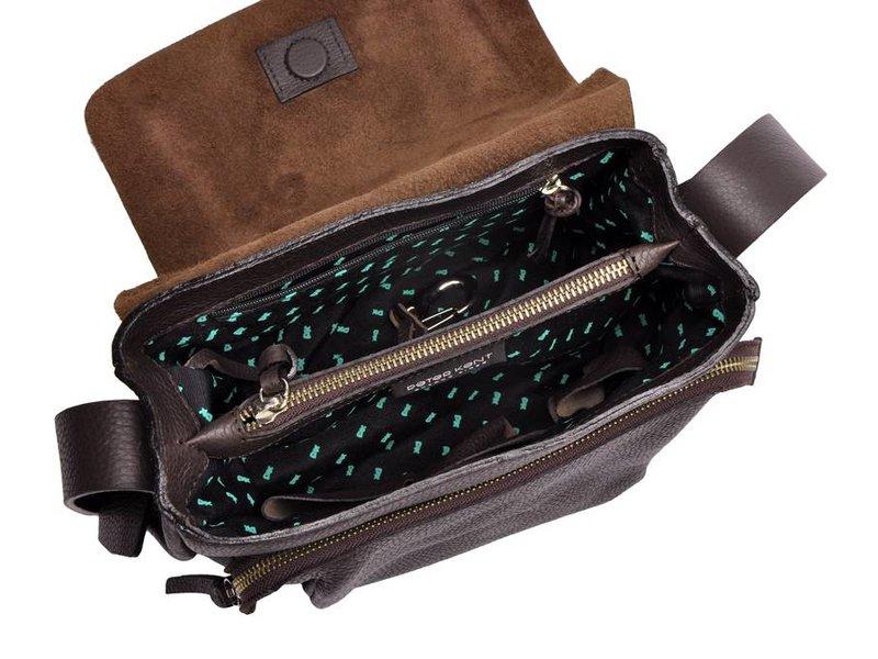 Peter Kent New York - crossbody bag - dark brown