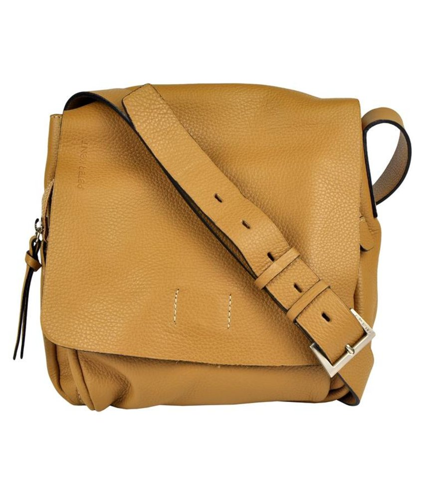 Peter Kent New York - crossbody bag - camel