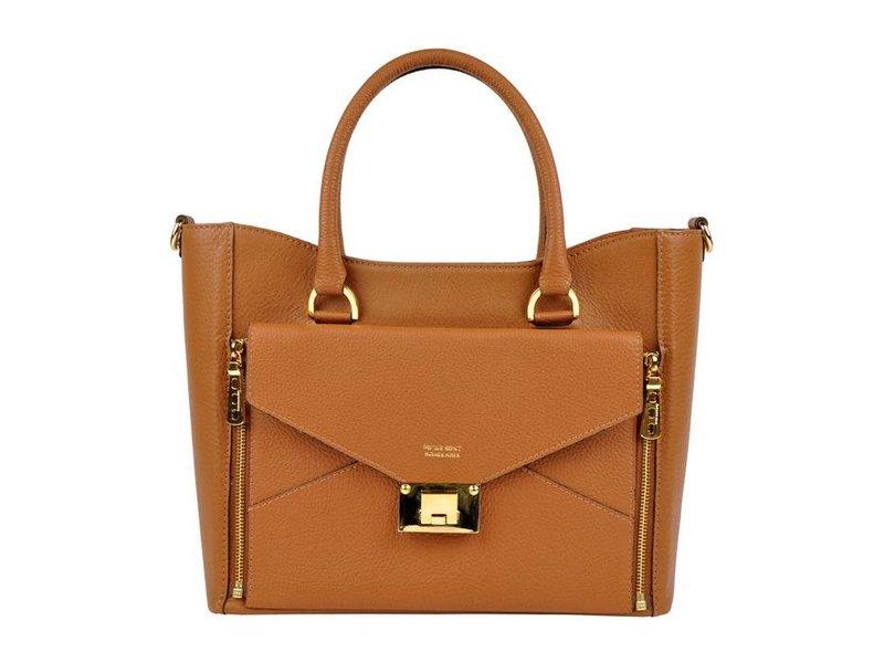Peter Kent Madrid - handbag - brown