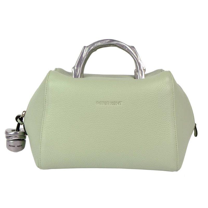 Peter Kent Baulito Amsterdam - handbag - pastel green