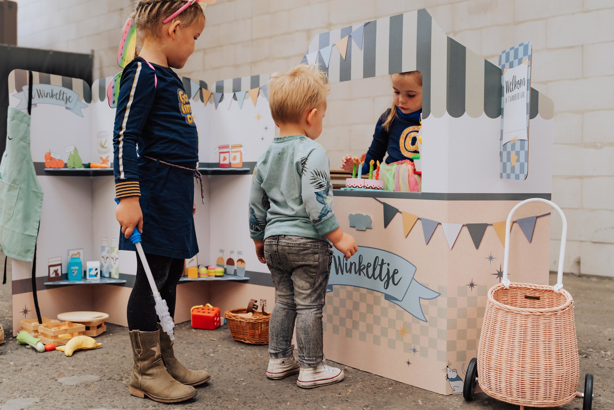 EVE kids Winkeltje blauw