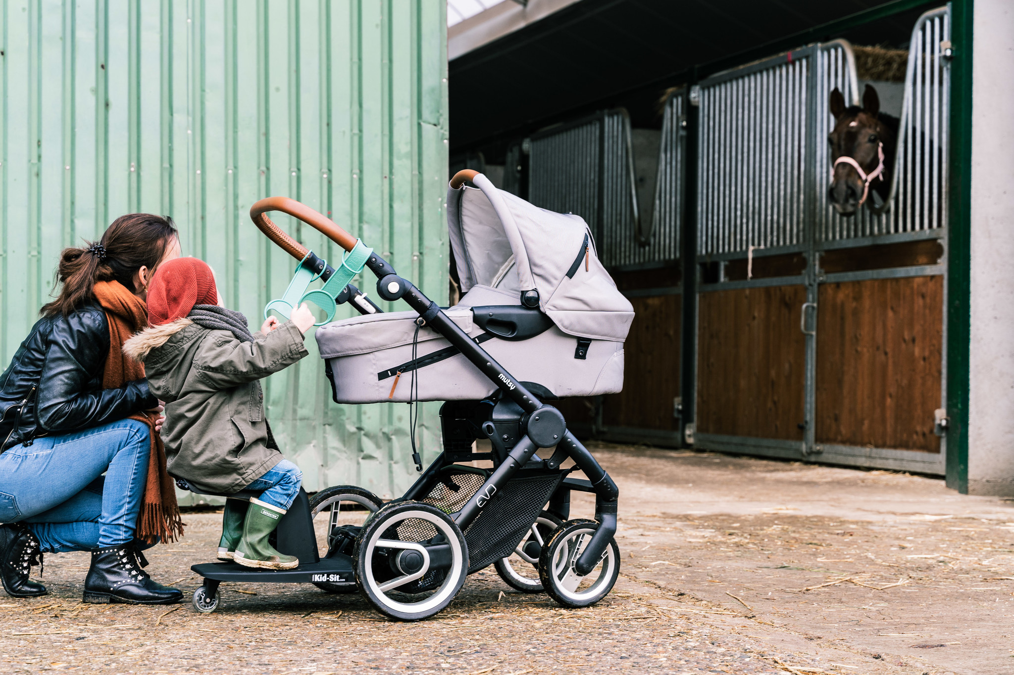 EVE kids Loopie FOREST GREEN