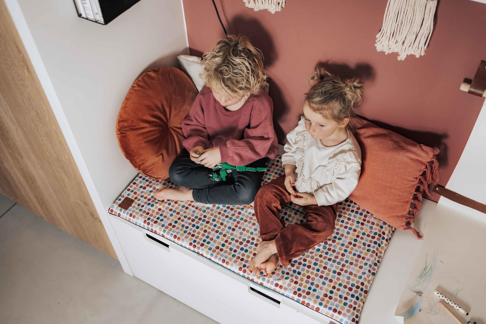 EVE kids Mooie Matty Speel & Loungemat Groen - voor Stuva