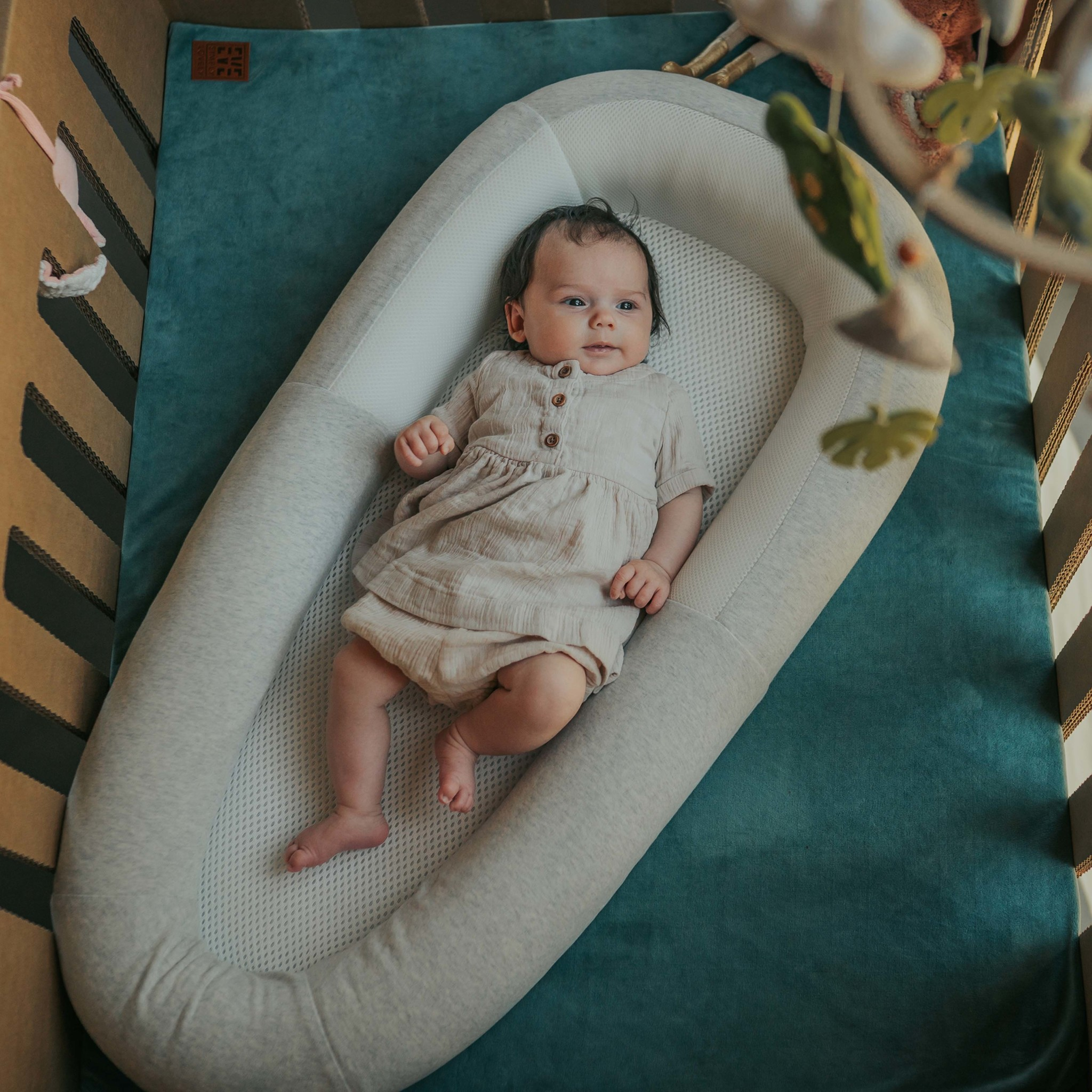Purflo Babynest soft white
