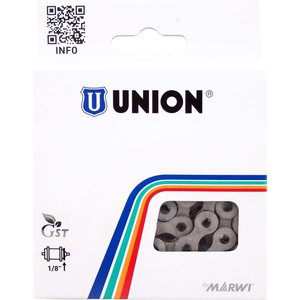 Union ketting 1/2x1/8 anti roest