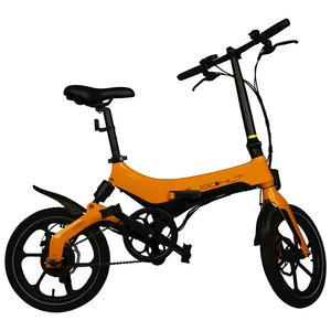 Bohlt elektrische vouwfiets X160 oranje