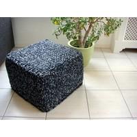 thumb-Vierkante Poef - 32 x 32 x 40 cm-3