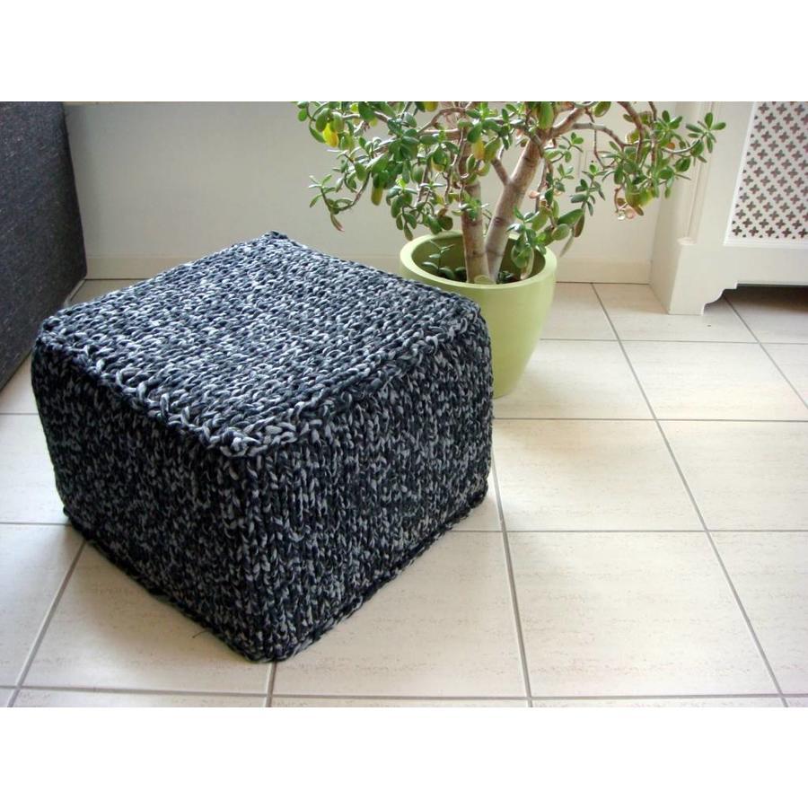 Vierkante Poef - 50 x 50 x 50-3