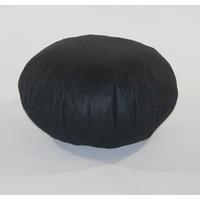 thumb-Pouf filling ø 50 cm Black-1