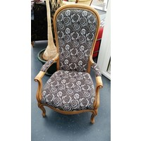 thumb-Fauteuil Roses-2