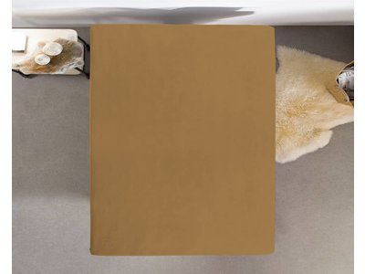 HomeCare Topper Hoeslaken Jersey Taupe