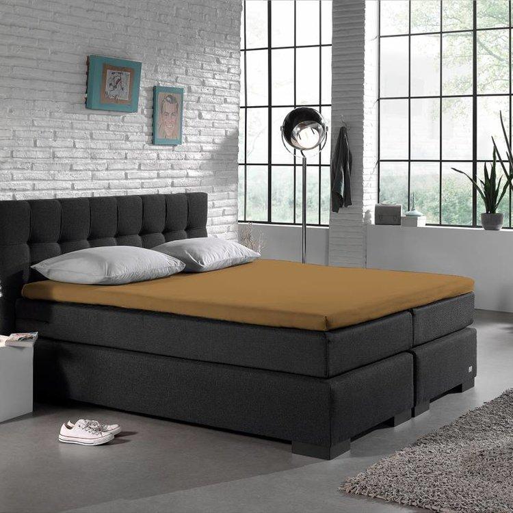 DreamHouse Topper Hoeslaken Katoen Taupe