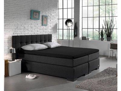 DreamHouse Hoeslaken - Topper - Katoen - Zwart