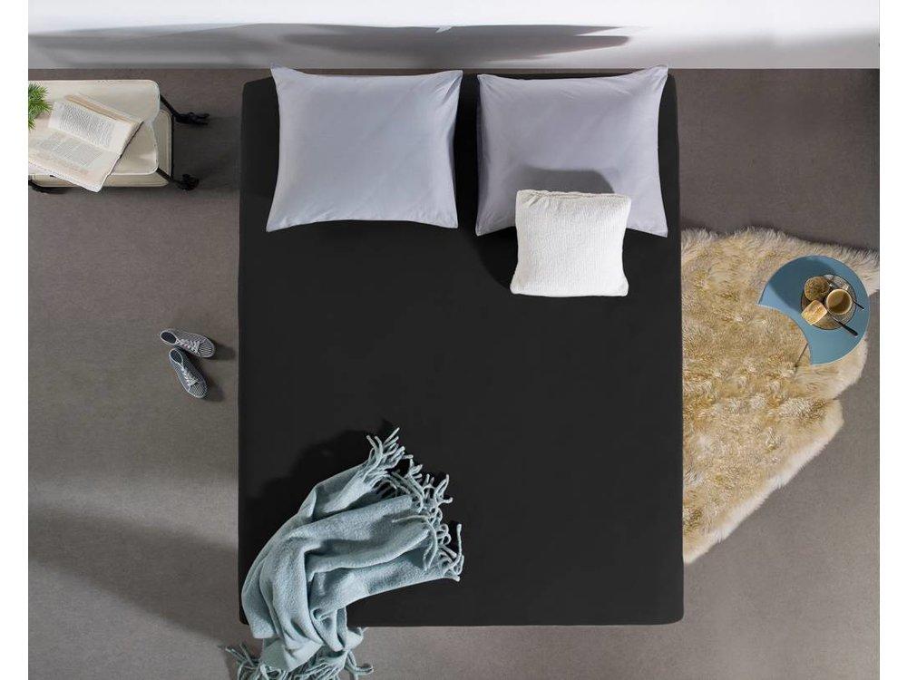 DreamHouse Topper Hoeslaken Katoen Zwart