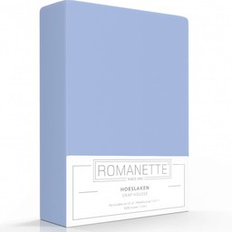 Romanette Hoeslaken - Katoen - Blauw