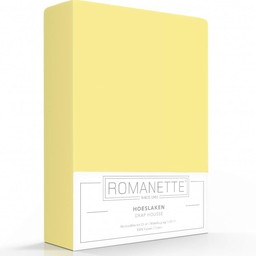 Romanette Hoeslaken - Katoen - Geel