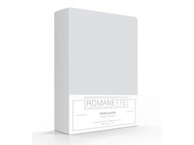 Romanette Hoeslaken - Katoen - Zilver
