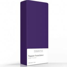 Romanette Hoeslaken - Topper - Katoen - Paars
