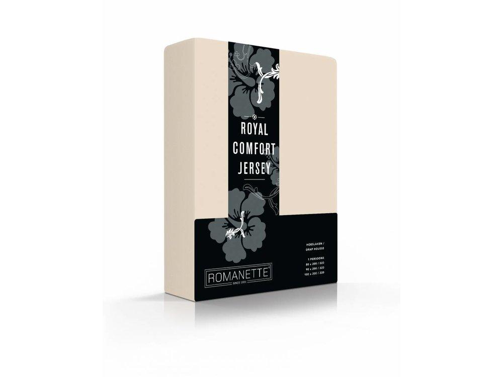 Romanette Hoeslaken Royal Jersey Beige