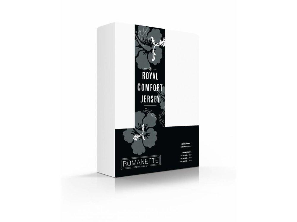 Romanette Hoeslaken - Royal Jersey - Wit