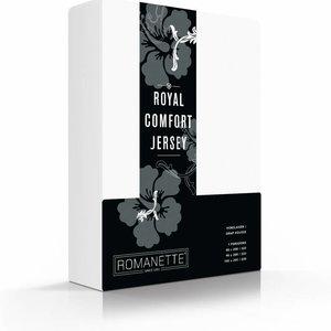 Romanette Hoeslaken Royal Jersey Wit