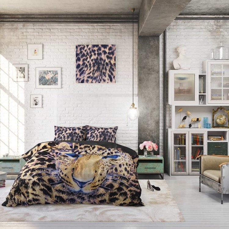 DreamHouse Dekbedovertrek Cheetah Taupe