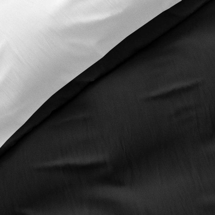 Zensation Dekbedovertrek Twin Face Zwart Wit