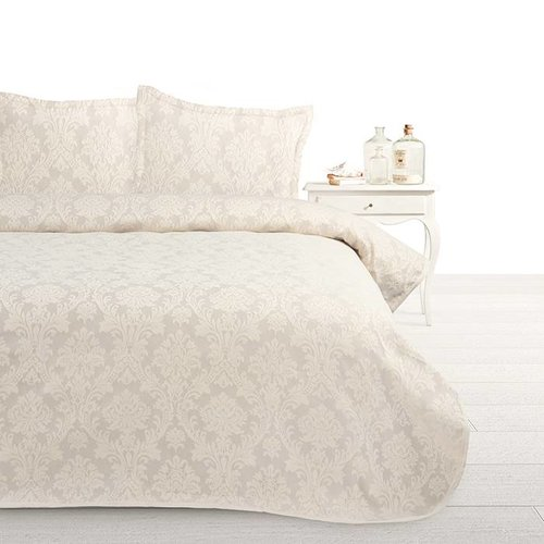Fancy Embroidery Sprei Heritage Crème
